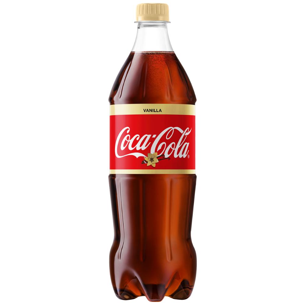 """Напиток сильногазированный """"Coca-Cola Vanilla"""" 0,9л – Торговый дом """"КРИСТАЛЛ"""""""